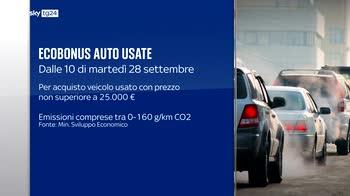 Ecobonus auto usate, al via da marted� 28 settembre