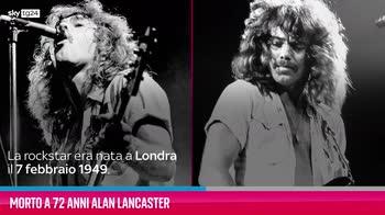 VIDEO Morto a 72 anni Alan Lancaster degli Status Quo