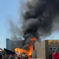 Texas, serbatoio di propano esplode all'autodromo. VIDEO