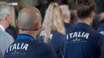 Mattarella: lavoro di squadra esempio per il Paese