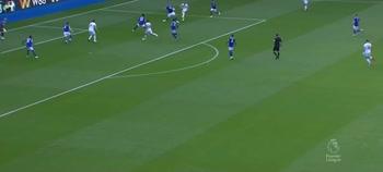 Il gol di Cornet, Leicester-Burnley
