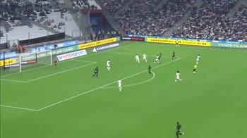Il gol di Frankowski, Marsiglia-Lens