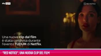 VIDEO Red Notice, una nuova clip del film