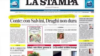 Rassegna stampa, i giornali di oggi