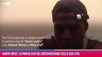 VIDEO Kanye West, la prima clip del documentario