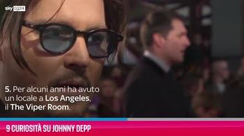VIDEO Johnny Depp, 9 curiosità sull'attore