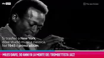 VIDEO Miles Davis, 30 anni fa la morte del trombettista jaz