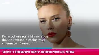 VIDEO Scarlett Johansson e Disney: accordo per Black Widow