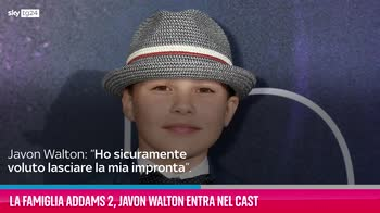 VIDEO La Famiglia Addams 2, Javon Walton entra nel cast
