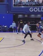 NBA, a scuola da Steph Curry: Kuminga va a farfalle