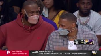 NBA, Howard fuori per falli: James e Westbrook ridono