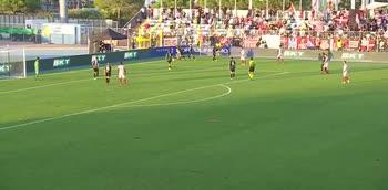 Il gol di Taugourdeau, Pordenone-Vicenza