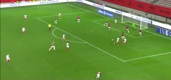 Il gol di Honorat, Nizza-Brest