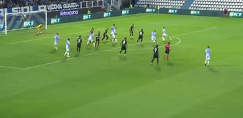 Il gol di Lorenzo Colombo, SPAL-Parma
