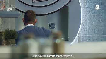 Alessandro Borghese Piatto Ricco - L'impiattamento al bivio