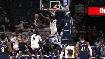 Preseason NBA: Minnesota-New Orleans 117-114