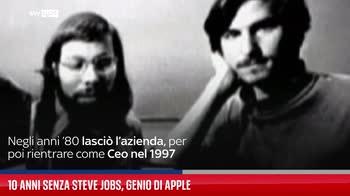 10 anni senza Steve Jobs, genio di Apple