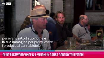 VIDEO Clint Eastwood vince 6,1 milioni contro truffatori