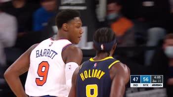 Preseason NBA: New York-Indiana 125-104