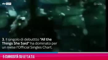 VIDEO t.A.T.u., 5 curiosità sul duo russo