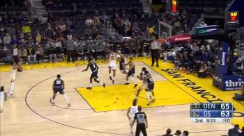 Preseason NBA Highlights: Golden State-Denver 118-116