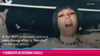 VIDEO Caterina Caselli, 7 curiosità su di lei