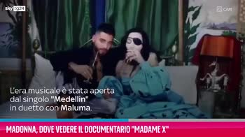 """VIDEO Madonna, dove vedere il documentario """"Madame X"""""""
