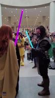 Comic Con New York, dichiarazione tra cosplayer. VIDEO
