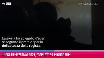 VIDEO Lucca Film Festival 2021, Copilot è il miglior film