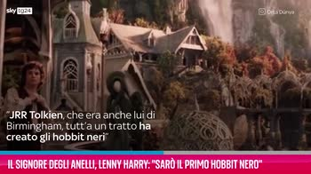 "VIDEO Lenny Harry: ""Sarò il primo Hobbit nero"""