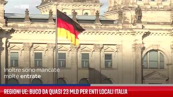 Regioni Ue: buco da quasi 23 mld per enti locali Italia