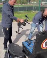 """Mourinho e il drone della Roma: """"Non ci stiamo divertendo"""""""
