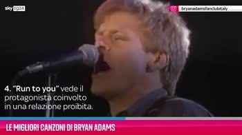 VIDEO Bryan Adams, le migliori canzoni