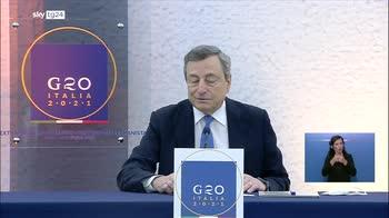 "G20 Afghanistan, Draghi: "" """