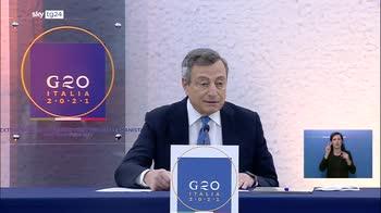 G20 Afghanistan, Draghi: un successo, ritorno multilateralismo