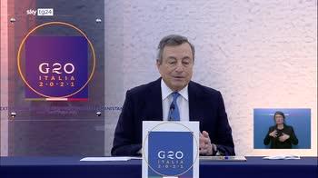 Draghi:  5000 afghani via grazie a noi, ora corridoi umanitari