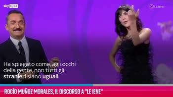 """VIDEO Rocío Muñoz Morales, il discorso a """"Le Iene"""""""
