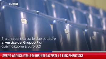Svezia accusa Italia di insulti razzisti, la Figc smentisce