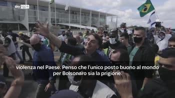 Salgado:: Bolsonaro assassino, vada in galera