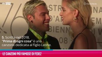 VIDEO Fedez, le sue canzoni più famose