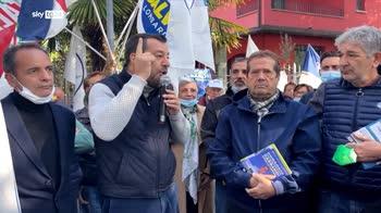 ERROR! Green pass, Salvini: Repubblica � fondata su lavoro