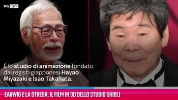 VIDEO Earwig e la strega, il film in 3D dello Studio Ghibli