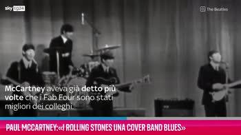 VIDEO Paul McCartney: I Rolling Stones una cover band blues