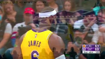 Preseason NBA, 30 punti di LeBron James contro Sacramento