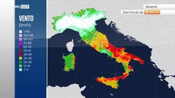 Meteo, ciclone sullo Ionio: instabile all'estremo sud