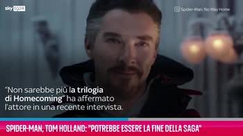 """VIDEO Spider-Man, Holland: """"Potrebbe essere la fine"""""""