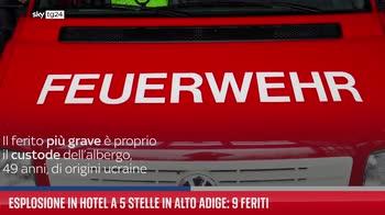ERROR! Esplosione in hotel a 5 stelle in Alto Adige: 9 feriti