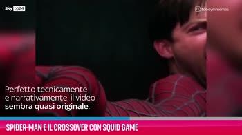 VIDEO Spider-Man e il crossover con Squid Game