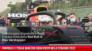 Formula 1, l?Italia avr� due Gran Premi nella stagione 2022