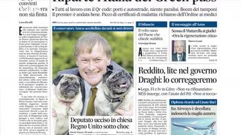 Rassegna stampa, i giornali del 16 ottobre